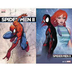 SPIDER-MEN II 1 VAR CVR A B SET MICHAEL TURNER