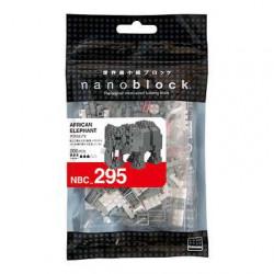 AFRICAN ELEPHANT NANOBLOCK BUILDING BLOCK SET