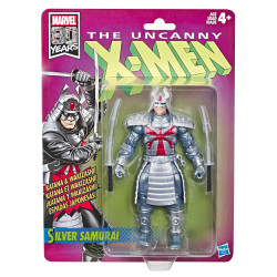 SILVER SAMURAI MARVEL LEGENDS WAVE 1 FIGURINE RETRO UNCANNY X-MEN 15 CM