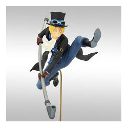 SABO ONE PIECE STATUETTE PVC BWFC NORMAL COLOR VER. 20 CM
