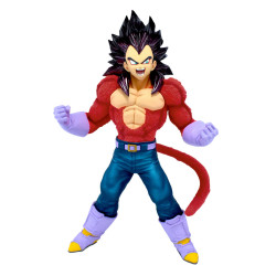 VEGETA SUPER SAIYAN 4 DRAGON BALL GT STATUETTE PVC BLOOD OF SAIYANS METALLIC HAIR COLOR 20 CM