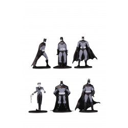 BATMAN BLACK & WHITE BLIND BAG MINI FIGURES WAVE 3