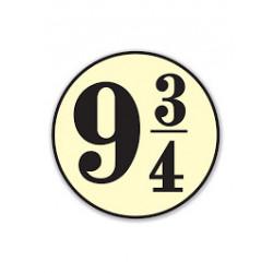HARRY POTTER PLATFORM 9 3/4 COASTER SET