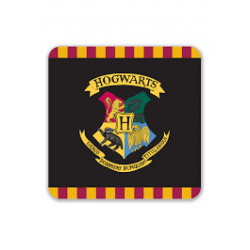 HARRY POTTER HOGWARTS COASTER SET
