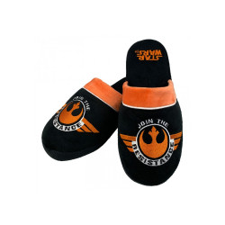 JOIN THE RESISTANCE STAR WARS MULE SLIPPERS