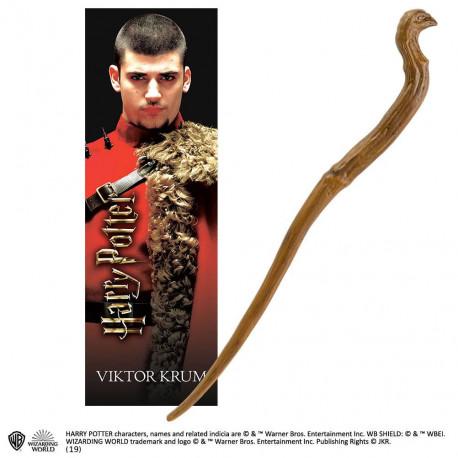 VIKTOR KRUM HARRY POTTER REPLIQUE BAGUETTE PVC 30 CM