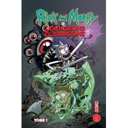 RICK & MORTY - RICK & MORTY X DONJONS & DRAGONS - RICK & MORTY : RICK & MORTY X DUNGEONS & DRAGONS