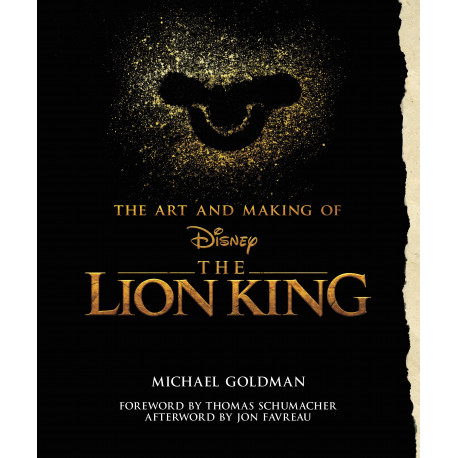 ART AND MAKING OF THE LION KING