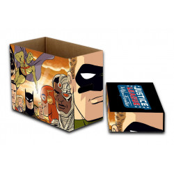 THE NEW FRONTIER JUSTICE LEAGUE DC COMICS BOITE DE RANGEMENT