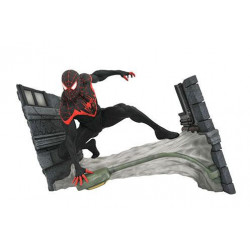 MILES MORALES SPIDER-MAN MARVEL COMIC GALLERY EXCLUSIVE STATUETTE 18 CM