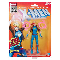 DAZZLER MARVEL LEGENDS WAVE 1 FIGURINE RETRO UNCANNY X-MEN 15 CM