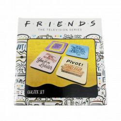 FRIENDS QUOTES COASTER SET