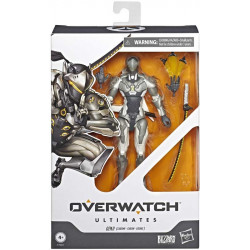 GENJI CHROME OVERWATCH ULTIMATES ACTION FIGURE