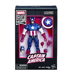 CAPTAIN AMERICA MARVEL LEGENDS 80TH ANN 6IN ACTION FIGURE