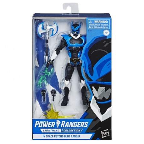 PSYCHO BLUE RANGER COLLECTION POWER RANGERS LIGHTNING IN SPACE ACTION FIGURE ACTION FIGURE