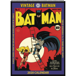 BATMAN VINTAGE DC COMICS 2020 WALL CALENDAR