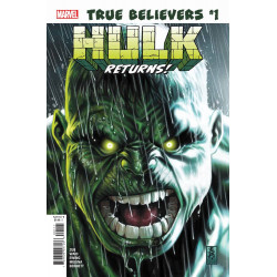 TRUE BELIEVERS HULK RETURNS