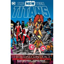 NEW TEEN TITANS THE JUDAS CONTRACT DLX ED HC
