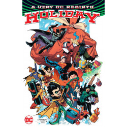 VERY DC UNIVERSE REBIRTH HOLIDAY TP