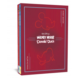 DISNEY MASTERS COLLECTORS HC BOX SET 1 2 SCARPA BOTTARO