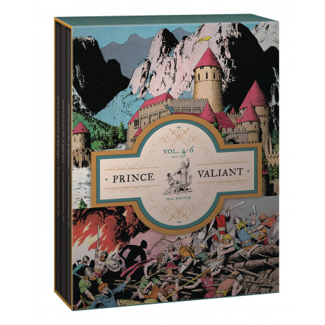 PRINCE VALIANT HC BOX SET VOL 04-06 1943-1948 2