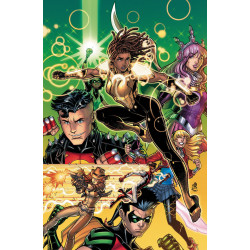 YOUNG JUSTICE 11 CARD STOCK VAR ED