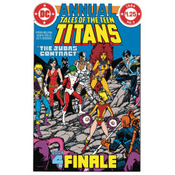 DOLLAR COMICS TALES OF THE TEEN TITANS ANNUAL 3