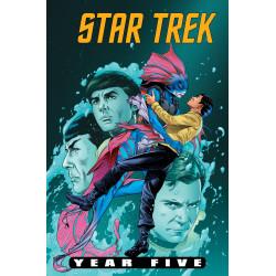 STAR TREK YEAR FIVE 9 CVR A THOMPSON