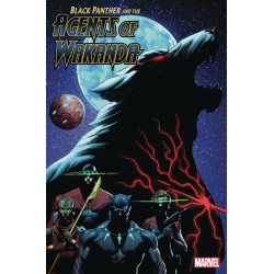 BLACK PANTHER AND AGENTS OF WAKANDA 4