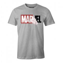 MARVEL LOGO MANIA T SHIRT SIZE XL