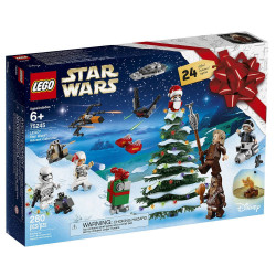 ADVENT CALENDAR STAR WARS LEGO BOX 75245