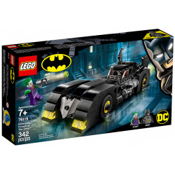 BATMOBILE PURSUIT OF THE JOKER BATMAN LEGO BOX 76119
