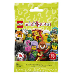 MINI FIGURES LEGO SERIES 19 V111 SACHET MYSTERE