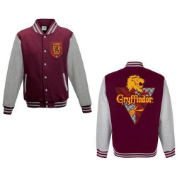 GRYFFINDOR HOUSE VARSITY JACKET HARRY POTTER EXTRA LARGE SIZE