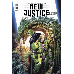 DC REBIRTH - NEW JUSTICE TOME 3
