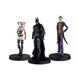 BATMAN ARKHAM ASYLUM 3 PACK HERO COLLECTION FIGURE