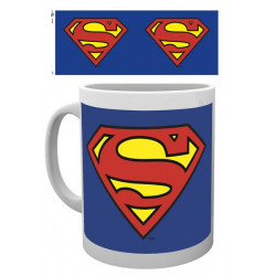 SUPERMAN LOGO DC COMICS BOXED MUG