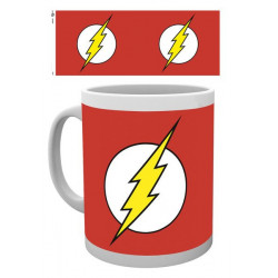 THE FLASH LOGO DC COMICS BOXED MUG