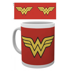 WONDER WOMAN LOGO DC COMICS BOXED MUG