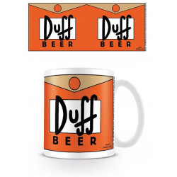 DUFF BEER THE SIMPSONS BOXED MUG