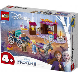 ELSA'S CARRIAGE ADVENTURE FROZEN II LEGO BOX 41166
