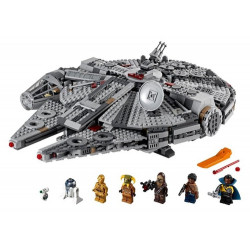 MILLENNIUM FALCON STAR WARS LEGO BOX 75257