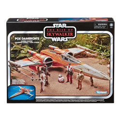 POE DAMERON X-WING STAR WARS VINTAGE E9