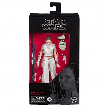 STAR WARS EPISODE IX BLACK SERIES FIGURINE 2019 REY & D-O 15 CM