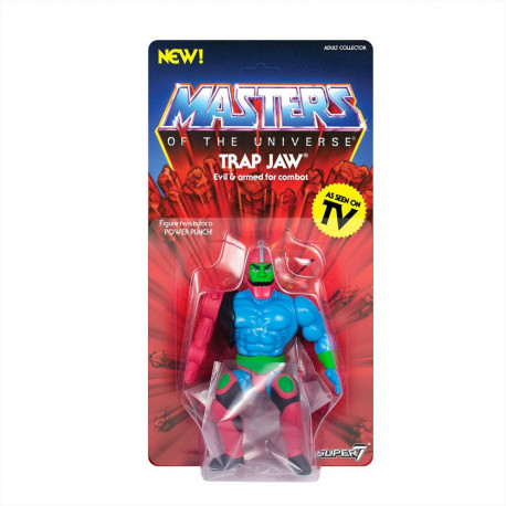 TRAP JAW MASTERS OF THE UNIVERSE ACTION FIGURE
