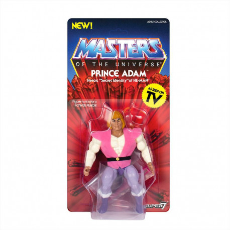 PRINCE ADAM MASTERS OF THE UNIVERSE ACTION FIGURE