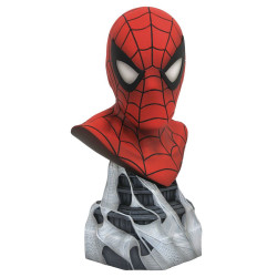 SPIDER-MAN MARVEL LEGENDARY COMICS 1/2 SCALE BUST