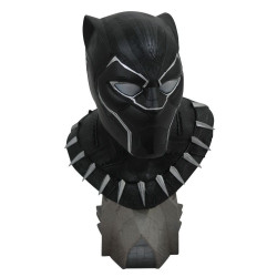 BLACK PANTHER MARVEL LEGENDARY COMICS 1/2 SCALE BUST