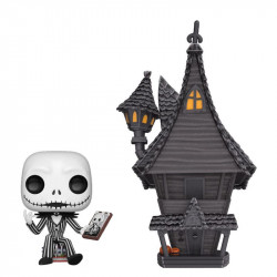 JACK SKELLINGTON & JACK'S HOUSE THE NIGHTMAREBEFORE CHRISTMAS POP! FIGURE