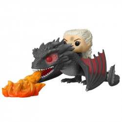 DAENERYS ON FIERY DROGON GAME OF THRONES POP! RIDES VINYL FIGURE